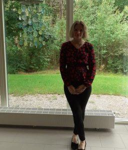 Marite Sild, praktikant från Estland